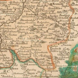 SCHREIBER, Joh. George. Der Leutmeritzer Craeys in dem Königreich Böhmen (německé míle). pol. 18. st.