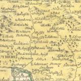 HOMANN, dědicové. Regni Bohemiae circulus Litomericensis.... Měřítko grafické (německé, české míle).