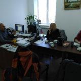 The crew with Osman Mogamedovich Batchayev (left)