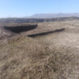 Daut gorodisce. Former archaeological research.