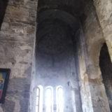 Old abandoned christian monastery above Karachayevsk.