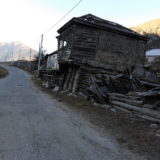 Interesting wooden construction in a village of 1600 meters above the sea level.