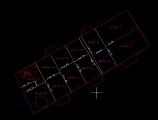 Obr. 05. Pôdorys situácie v modelovom priestore.