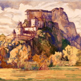 year: 1928; material: paper/aquarel author: Viktor Hermély; original: Gallery Ernst Zmet. K399