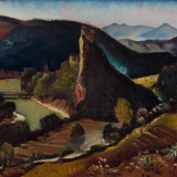 year: 1929; material: paper/aquarel author: Martin Benka; original: Gallery Ernst Zmet. M267