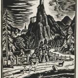 year: 1930; material: linocut author: Ferdiš Duša; original: SNG G1106