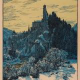 year: 1934; material: cardboard author: Karel Vik; original: SNG G2863